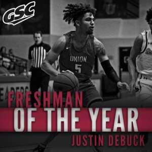 JT Debuck Freshman of the Year